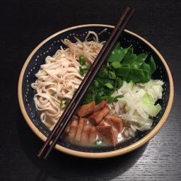 Hot n sour noodle soup