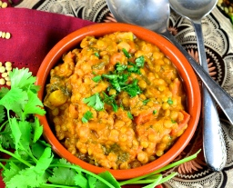Coconut vegetable daal