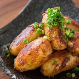 Miso-glazed potatoes