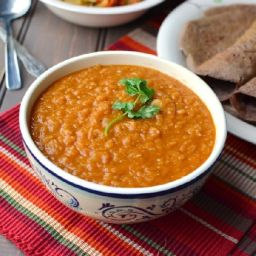 Mesir wat (Ethiopian lentil dish)