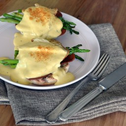 Mushrooms Benedict