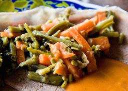Fossolia (Ethiopian vegetable side dish)