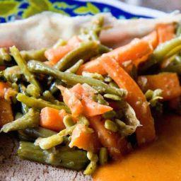 Fossolia (Ethiopian vegetable side dish)
