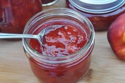 Nectarine dipping sauce (riff off plum sauce)