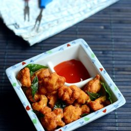 Cauliflower pakoras