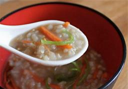 Heartwarming rice porridge